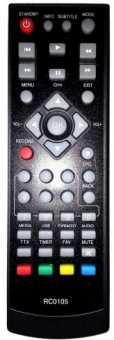 Пульт BBK STB-110/107/105a, RC0105, SkyVision T2501 и др. DVB-T2