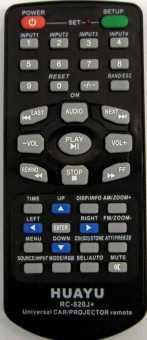 Пульт UNIV MASTER CAR (для автомагнитол/TV/DVD)
