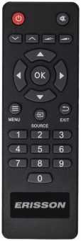 Пульт Erisson 32LES16, 32LES78T2W и др TV