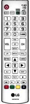Пульт LG AKB73975790, PW800/1000/1500 проекторов