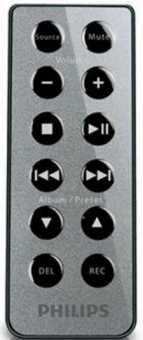 Пульт Philips AZ1880 магнитолы