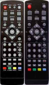 Пульты Байкал HD910/920/930/940/950 и др. ТВ приставок DVB-T2
