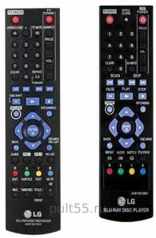 Пульты LG AKB72975301 AKB73615801 и др Blu-ray плеер