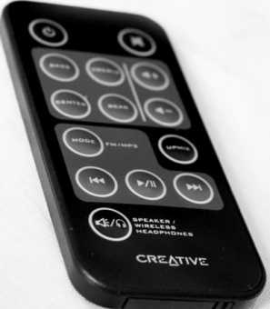 Пульты Creative GigaWorks G550W/S750 акустики