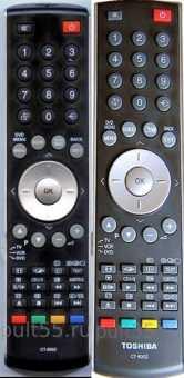 Пульты Toshiba ct-8002, ct-8003 и др