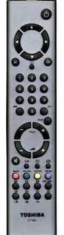 Пульт Toshiba ct-861 для ТВ 23WL46G и др.