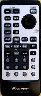 Пульт Pioneer CXC1337 в авто DVH-P5000MP/EW  DVH-P5050MP/RD