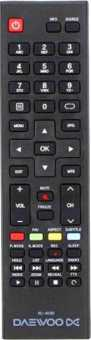 Пульт Daewoo  L32R630, L40R630, L43R630, L49R630, RC-403BI и др ТВ