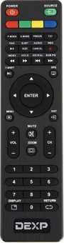 Пульт Dexp H39D7000Q, H32D7000Q, F43D7000Q и др TV