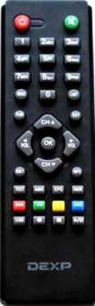 Пульт Dexp HD2552P и др. DVB-T2