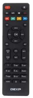 Пульт Dexp HD 3552M/3112M/2992P/2991P/2771P и др. DVB-T2