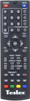 Пульт Tesler DSR-590I/310/420/710 и др. DVB-T2