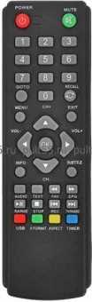 Пульт Econ DTE-100/-101/-103/-105/110 ТВ приставок