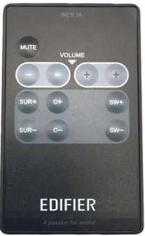 Пульт Edifier RC5.1A/ M3500/3700 и др акустики