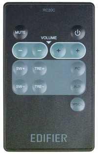 Пульты Edifier RC2.1b/5.1c/ 1c1, RC20C/G и др акустики