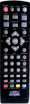 Пульт Electronics EL2102HD, EL2103HD, VV8902HD приставок