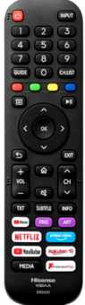 Пульты EN2F30D/H Dexp U55F8000H, Hisense 43/55/50A7300F и др. ТВ - аналог