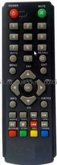 Пульт HD-500/501RU, Gi-777/222, T34 и др ТВ приставок