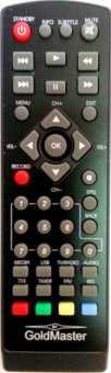 Пульты GoldMaster T-707HD, T-303 DVB-T2