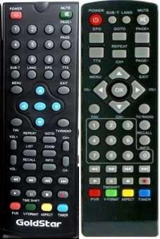 Пульты GoldStar ТВ приставок DVB-T2