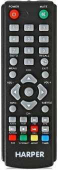 Пульты HARPER HDT2-1202/-1514/-1010 и др DVB-T2