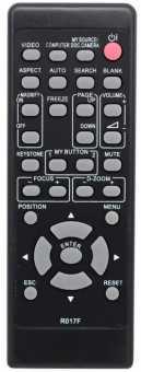Пульт R017F Hitachi ED-A101/ 111EF/220N, CP-A220/221/222/300/301N, CP-AW250/251N iPJ-AW250NM и др проекторов