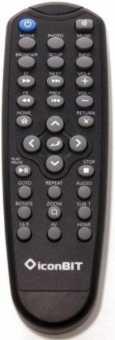 Пульт IconBit HDD80HDMI, HDD90HDMI, xPlay 950HDMI и др.