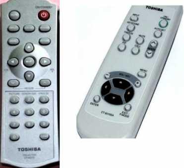 Пульты для проекторов Toshiba