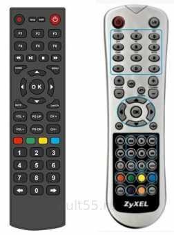 Пульты IP TV-приставок Ростелеком Zyxel, Yuxing, Coship
