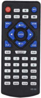 Пульт KR-50 Leadstar, Горизонт, Орбита D7, D9, D10, D12  и др. портативных ТВ