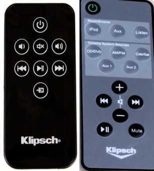 Пульты  Klipsch RSB-3/-11, KMC 3, R-4B, RoomGroove и др акустики