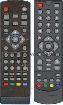 Пульт LEADSTAR DVB-185T2/169/168T2 ТВ приставок