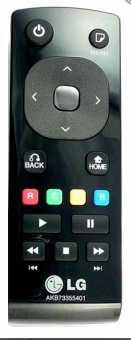 Пульт LG AKB73355401 для медиаплеера LG ST600 и др