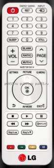 Пульты LG AKB73616401/414/415/420/427 и др. проекторов