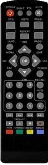 Пульты Locus DR-103/104HD, DR-105HD и др. DVB-T2