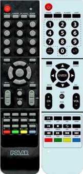 Пульты VR, Polar 94LTV6004 и др TV