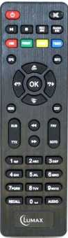 Пульты Lumax DV-2104/2106/2018/3018/3201/3203/3208/3209HD и др приставок
