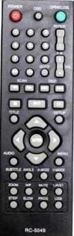 Пульт Hyundai XC-018-T (H-DVD5062-N) /Supra DVS-305XK / Mystery MDV-835U и др dvd