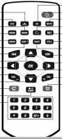Пульт Prology MPN-D500, MPN-D510 и др. в авто - аналог