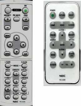 Пульты проекторов NEC прочие
