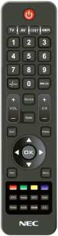 Пульт NEC E322/323/324, E423/424/464, E553/554 E654 и др. мониторов - TV