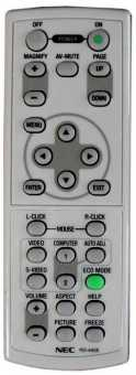 Пульты NEC RD-409E/423E/427E/437E/445E проекторов