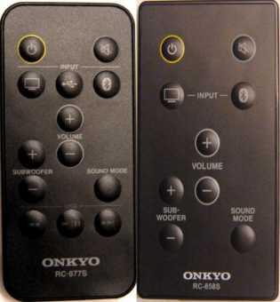 Пульты акустики-саундбар Onkyo