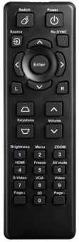 Пульт Optoma DS329/DX329, DS550/DX550  EX550 и др. проекторов - аналог