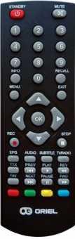 Пульт Oriel 790, 870, 960/961(ПДУ-9) DVB-t2