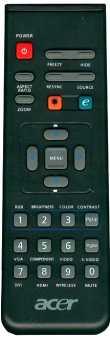 Пульт Acer P1100/1101/1200/1201/1203/1206P/1265R/1266P/1270/1165R/1166P/1303P, P5270/5280/5290 и др проекторов