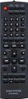 Пульты Panasonic N2QAYB000281/N2QAHB000064 аудиосистем - муз. центров