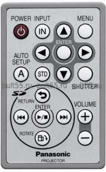 Пульт Panasonic N2QAYC000001 PT-P1SDu/ea и др. проекторов