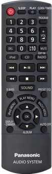 Пульты Panasonic аудиосистем - муз. центров