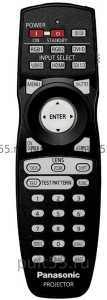 Пульт Panasonic N2QAYB000164/ 371 проекторов